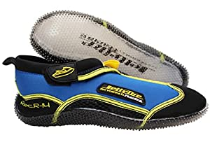 JTG 10402-YB REC R-14 RIDE SHOES (Yellow and Blue, 9)