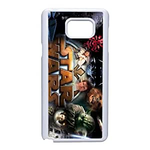 Samsung Galaxy Note 5 Cell Phone Case White Star Wars AC8513257