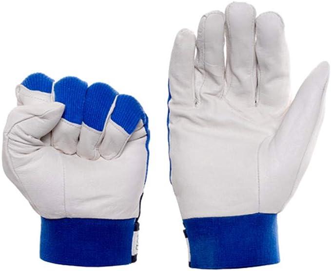 Bleu Jaune Gants de Cuisson ignifuges en Taille 40cm BlesMaller Gants de Barbecue Gants de soudage,Gants de Four r/ésistants /à la Chaleur pour Griller Le Foyer de soudage de Cuisson