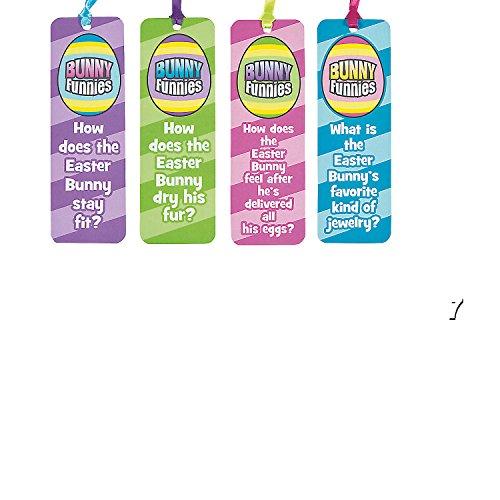 (48) Assorted EASTER Funny Bookmarks ~ Classroom Gifts ~ Egg Hunt Prizes ~ Basket Fillers ~ Teacher Prize