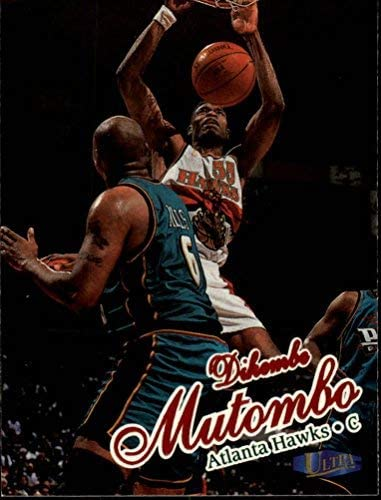 1997-98 Ultra #43 Dikembe Mutombo NBA Basketball Trading Card
