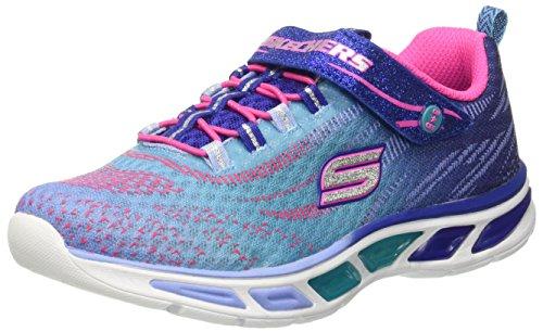 Skechers Litebeams, Zapatillas de Deporte para Niñas Azul (BLHP)