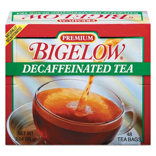 BTC00356 - Bigelow Tea Premium Blend Decaffeinated Black (Bigelow Premium Black Tea)