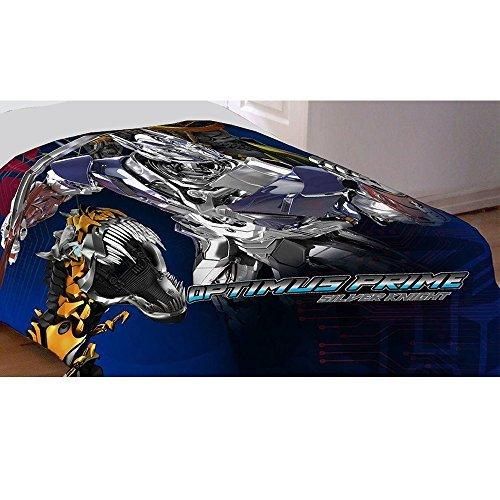 Transformers Optimus Prime Age of Extinction microfiber twin comforter