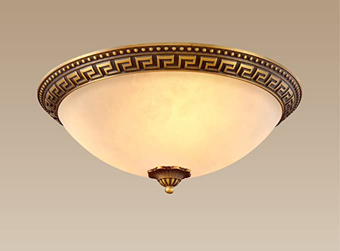 The Filling Of Copper Ceiling Light New Style Chinese Artistic Retro Bedrooms Hall Is