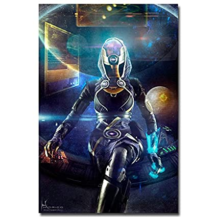 Amazon.com: Lawrence Painting Mass Effect 2 3 4 Shooting Action Game ...
