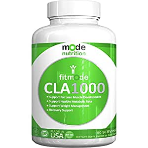 mode nutrition - CLA 1000 Conjugated linoleic acid, 90 Serving Soft Gel, Weight Loss Supplement, Stimulant-Free Fat Burner