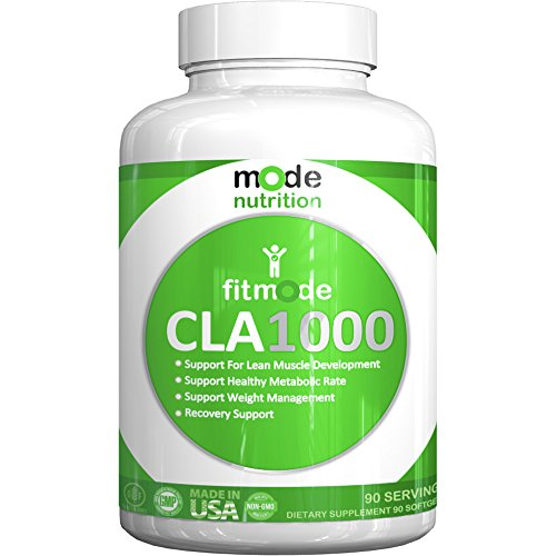 mode nutrition – CLA 1000 Conjugated linoleic acid, 90 Serving Soft Gel, Weight Loss Supplement, Stimulant-Free Fat Burner