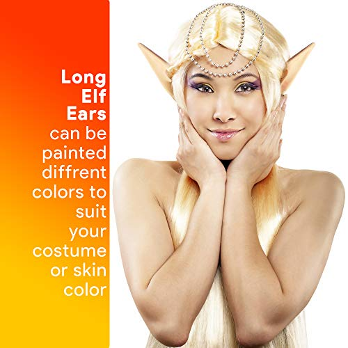 Skeleteen Costume Elf Ear Cuffs - Fairy Mystical Pixie Elven Ears Two Sets of Different Sizes for Me - http://coolthings.us