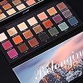 UCANBE 21 Colors Belonging Pigmented Eyeshadow Makeup Palette, 6 Matte and 15 Shimmer Blending Eye Shadow, Waterproof Long Lasting Powder Make Up Set