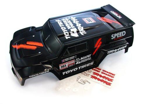 Traxxas 1/10 Slash 2WD Robby Gordon * DAKAR EDITION BLACK BODY * 4x4 Hummer (Traxxas Hummer Body compare prices)