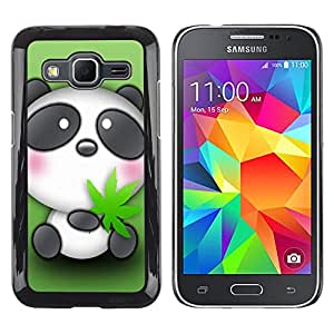 - Panda Cute Bear Animal - - Monedero pared Design Premium cuero del tir¨®n magn¨¦tico delgado del caso de la cubierta pata de ca FOR Samsung Galaxy Core Prime G360 G3608 G3606 Funny House
