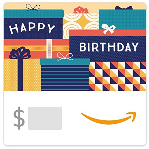 Amazon eGift Card - Birthday Packages (For Men Gifts Birthdays)