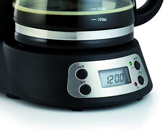 Tristar KZ-1225 - Cafetera con panel de control digital y ...