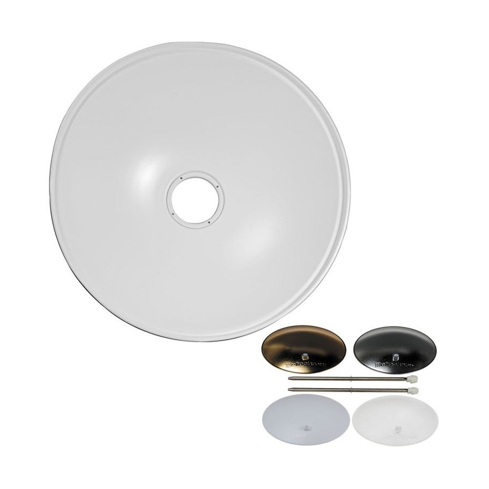 Elinchrom 70cm Softlite 82 Degree Reflector with Deflector Set - White (EL26169)