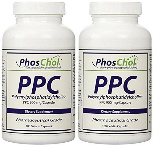 Nutrasal PhosChol, 900mg, 100 Softgels (2 Bottles)