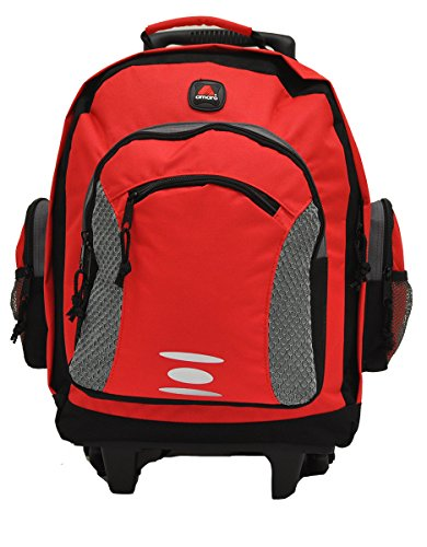 - Academy Wheel Backpack Royal Blue Color by amaro (Red)