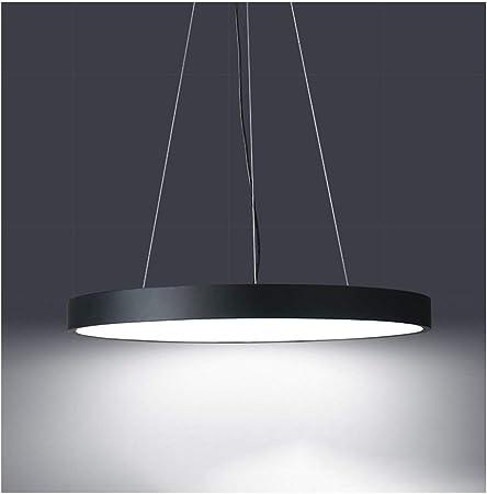 Araña WFL-Decoración de iluminación Ultra-Delgada Ronda LED de la Oficina Lámparas Estilo Industrial Industrial Internet Café Salón Dormitorio Pasillo Pasillo Colgante de Luz [Clase de eficie: Amazon.es: Hogar