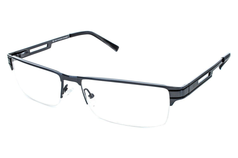 Amazon.com: John Raymond Release Mens Eyeglass Frames - Black: Clothing