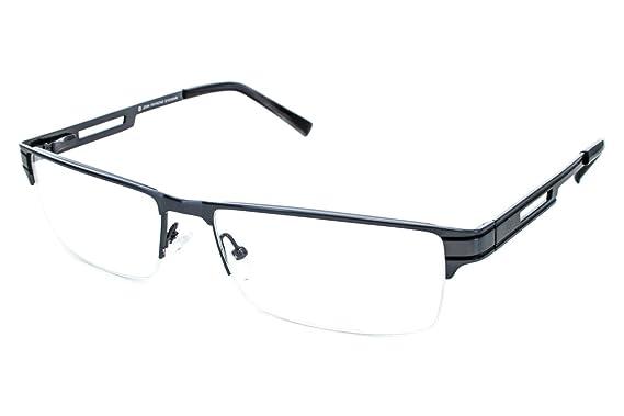 Amazon.com: John Raymond Loft Mens Eyeglass Frames - Gunmetal: Clothing