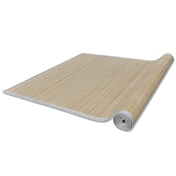 Bambusteppich  vidaXL Bambusteppich Bambus Teppich Matte Läufer Küchenteppich ...