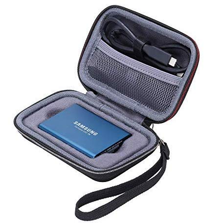 Samsung T3 T5 SSD - Funda para Samsung T3/T5 (Disco Duro de 250 GB ...