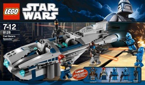 LEGO 8128 Star Wars - Deslizador de Cad Bane: Amazon.es: Juguetes y juegos