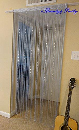 Amazoncom Romantic Decorative Beads Chain String Door Curtain Room