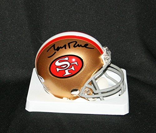 JERRY RICE Signed San Francisco 49ers Mini Helmet Autograph PSA / DNA - Rice Signed Jersey Jerry