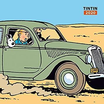 Tintin 2020 Wall Calender