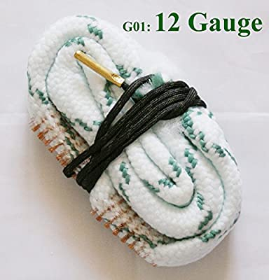 New Bore Snake Cleaner .17 .22 Cal .308 .380 9mm Caliber 12 20 28 Gauge Rifle/Pistol/Shotgun Cleaning
