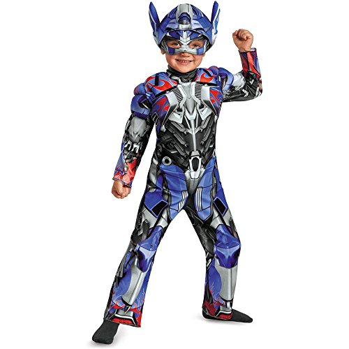 [Optimus Prime Muscle Toddler Costume - Toddler Small] (Optimus Infant Costumes)