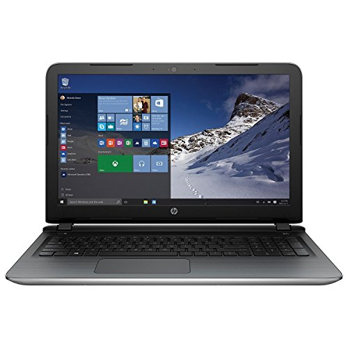 HP 15.6 Inch Laptop Computer (AMD Quad-Core A10-8700P Processor up to 3.2GHz, 8GB RAM, 1TB Hard Drive, DVD/CD Drive, HD Webcam, Windows 10 Home) (Renewed)