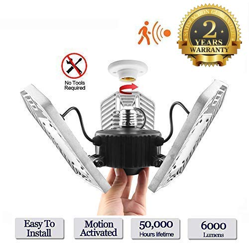 Motion Activated Led Ceiling Light