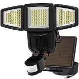 Solar Lights Motion Sensor, Costech 182 LED 1000 Lumens Outdoor Sensor Light Weatherproof