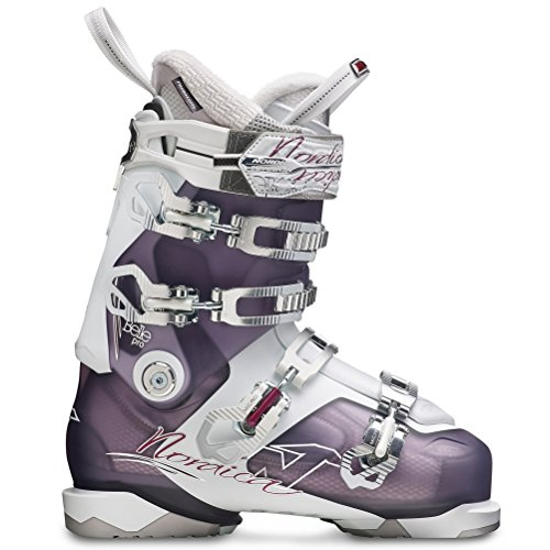Bottes De Ski Nordica Belle Pro - Femme Violet / Blanc