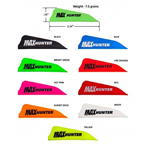 AAE Max Hunter Vanes (12 Pack) (Sunset Gold)