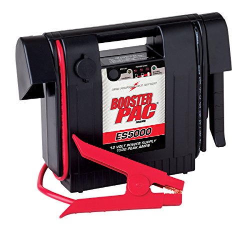 Booster PAC ES5000 1500 Peak Amp 12V Jump Starter - 12v Battery Booster 1500 Peak