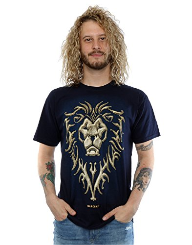 Warcraft-Mens-Alliance-Emblem-T-Shirt