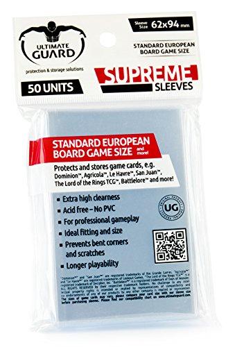 Ultimate Guard 10107 Fundas para Juego Europeo de Mesa estándar ...