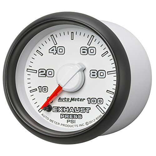 Auto Meter (8595) Dodge Match 2-1/16'' 0-100 PSI Full Sweep Electric Exhaust Pressure Gauge by Auto Meter (Image #2)