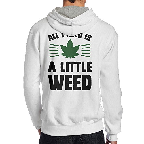 Price comparison product image Men's All I Need Is A Little Weed Sweatshirts