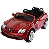 Red Kids Ride On Car 12V Power Electric Toy MP3 RC with Remote Control