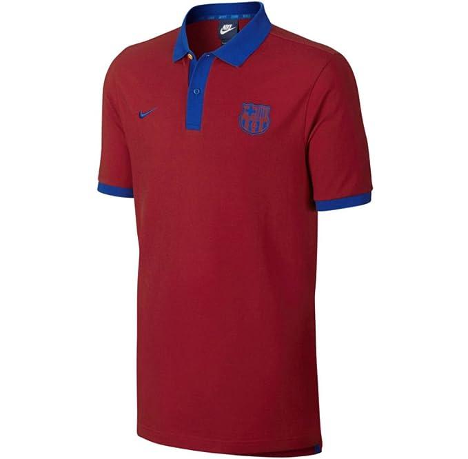 Nike FCB M NSW Polo Pq Cre - Polo Manga Corta FC Barcelona Hombre ...