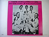 THERE GOES A PRETTY GIRL AND HERE COMES THE ENCHANTERS LP (12