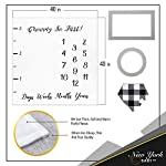 Baby-Monthly-Milestone-Blanket-for-Boy-Girl-Unisex-Neutral-Personalized-Photography-Background-Blankets-Thick-Fleece-for-Mom-Newborn-Baby-Shower-Gifts-Bandana-Drool-Bib-2-Months-Frame-Markers