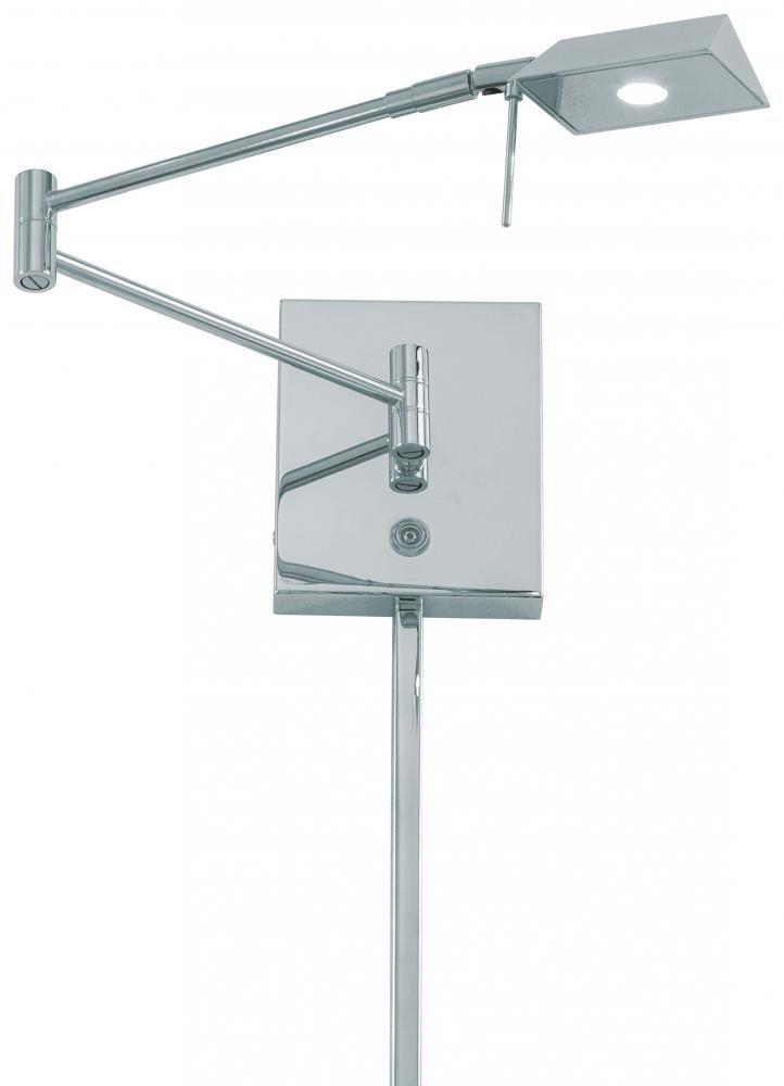 George Kovacs P4318-077 One Light Led Swing Arm Wall Lamp