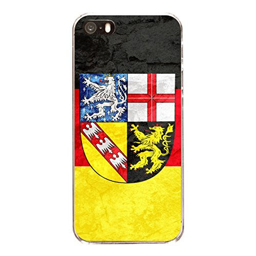 "Disagu Design Case Schutzhülle für Apple iPhone SE Hülle Cover - Motiv ""Saarland"""