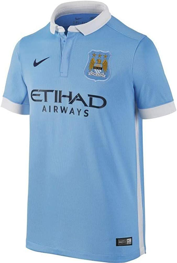 Nike Boys Manchester City Home Stadium Jersey [Field Blue]