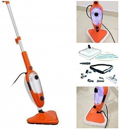 12 in 1 manual limpiador de Vapor multiuso Vapor Mopa con accesorios para el uso en LAMINADO suelo, Madera Dura suelos, Ventanas, Suave Muebles y coches: Amazon.es: Hogar